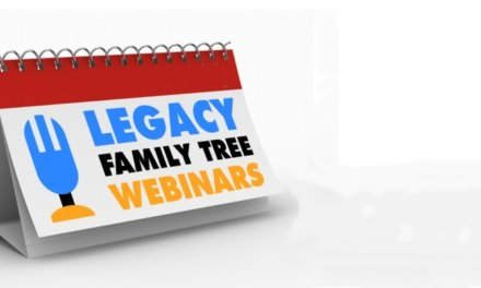 Family Tree Webinars 2020 Schedule Announced