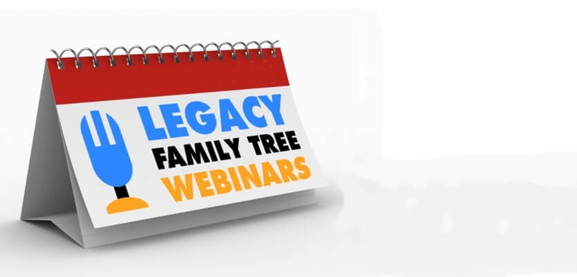 Save 50% on a Legacy Family Tree Webinar Subscription – EXTENDED