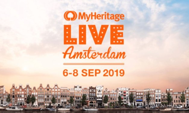 MyHeritage LIVE 2019 Heads to Amsterdam