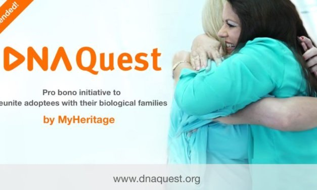 MyHeritage Offers 5000 More DNA Kits Free to Adoptees