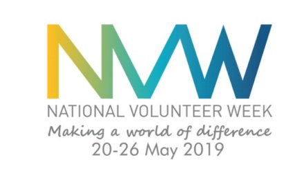 National Volunteer Week, 20-26 May 2019