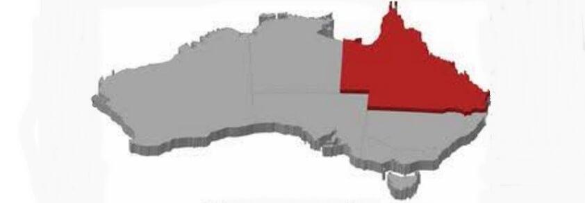 Map Of Australia Highlighting Queensland.Findmypast Adds Another 80 000 Queensland Records Online Genealogy