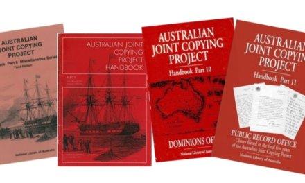 The Australian Joint Copying Project Goes Online