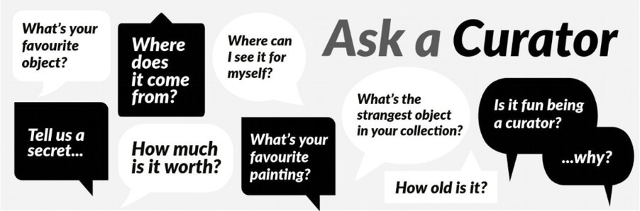 #AskACurator Day – 18 September 2019