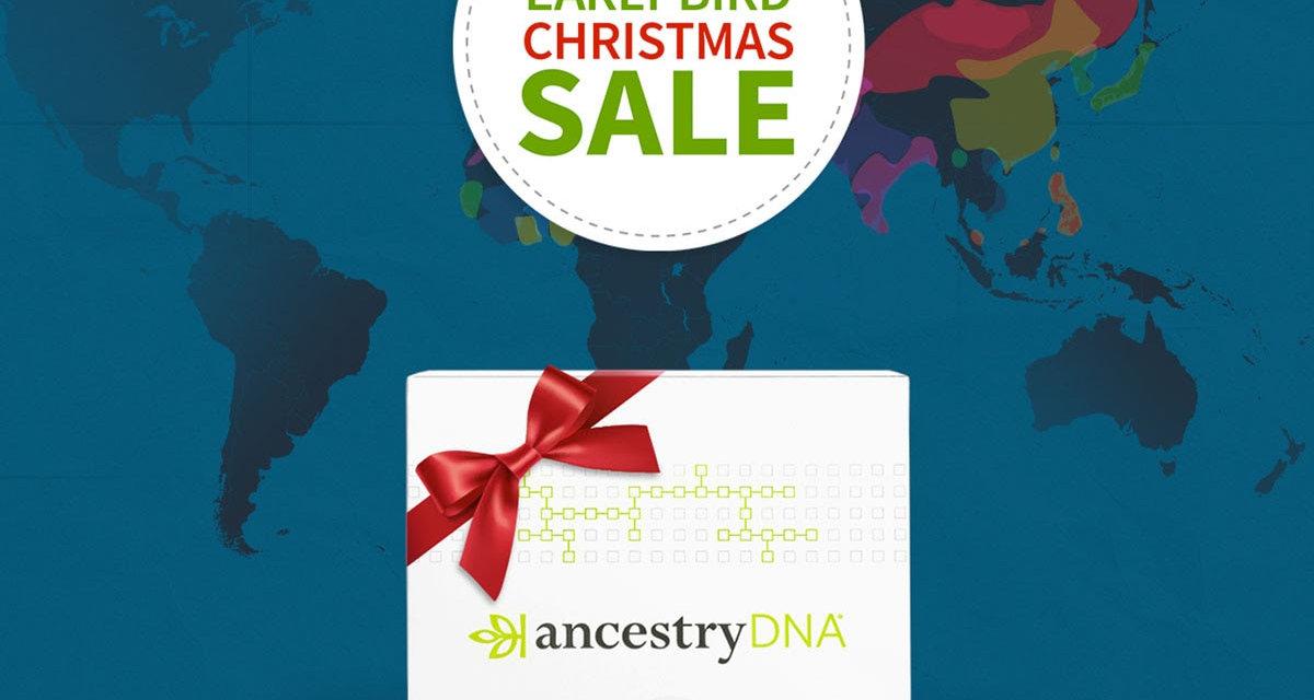 Ancestry.com.au's Early Bird Christmas Sale