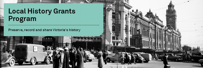 Victorian Local History Grants 2019-20 Applications Now Open