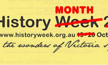 Victoria's History Week Becomes Victoria's History Month