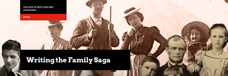 """Registrations Open for the UTAS """"Writing the Family Saga"""" Online Course"""