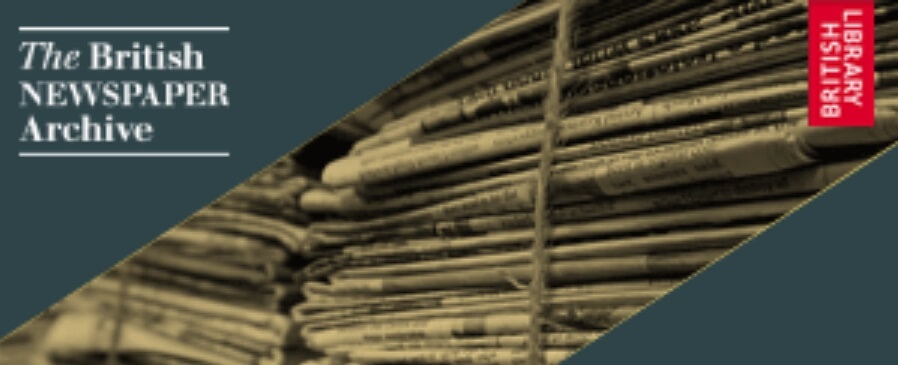 Save 30% on a British Newspaper Archive Subscription
