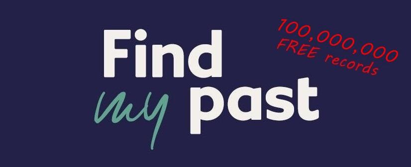 View Over 100 Million Records on Findmypast for FREE