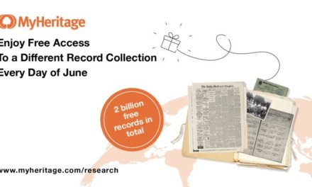 FREE Records On MyHeritage Every Day During June