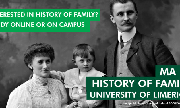 Enrolments Now Open for Online MA 'History of Family' Course