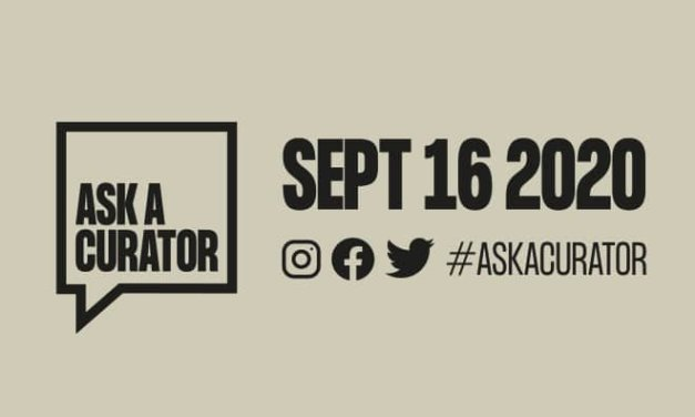 #AskACurator Day – 16 September 2020