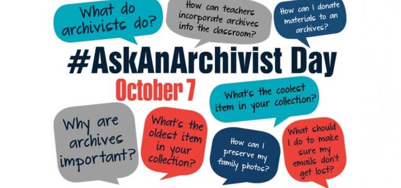 #AskAnArchivist DAY – 7 October 2020