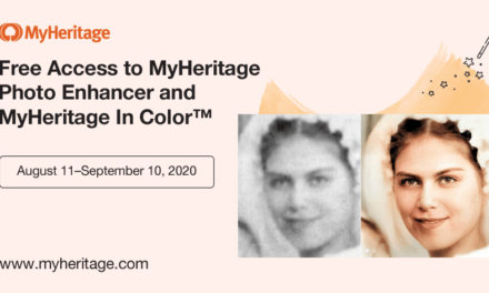 Last Days to Enter the MyHeritage #EnhancedandColorized Photo Competition