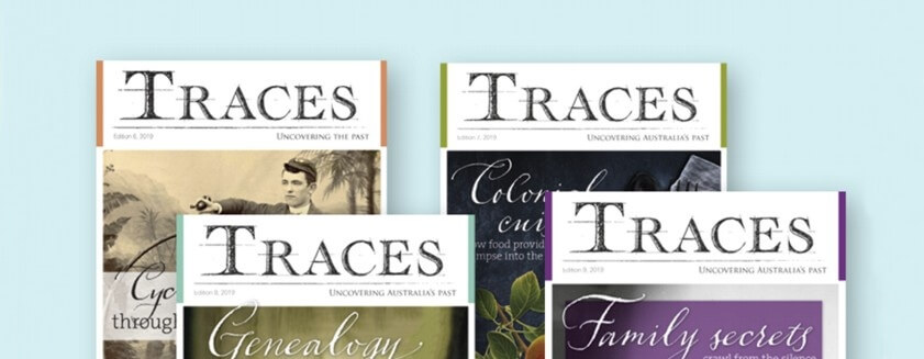 BIRTHDAY SPECIAL: Save 15% on a Traces Magazine Subscription