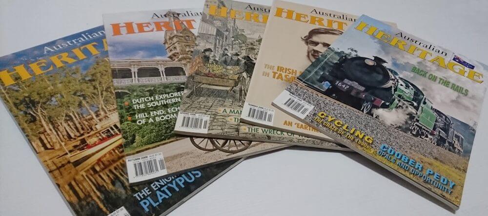 CLEARANCE: 'Australian Heritage' Magazine